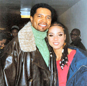 Joe James and Alicia Keys